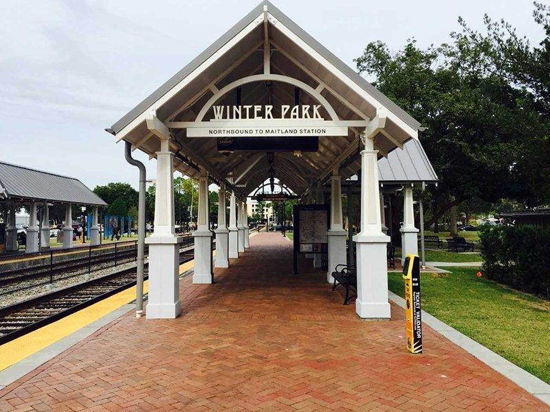 Winter Park Train Station